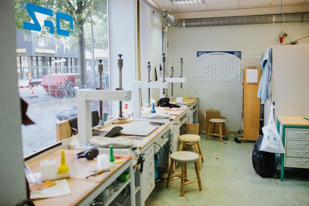 Hauseigene Werkstatt
